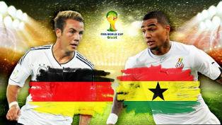 Германия и Гана разошлись миром на стадионе «Кастелан»