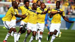 Колумбийцы чувствовали себя как дома в матче против греков