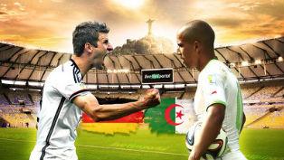 Немцам не хватило 90 минут, что бы сломить сопротивление Алжира