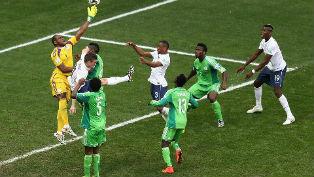 Французы пробились в 1/4 финала, где сыграют со сборной Германии