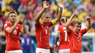 Швейцария стартует с победы как и четыре года назад