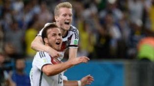 Немцы стали четырехкратными чемпионами мира по футболу