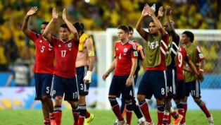 Бразильцы остановили победное шествие колумбийской сборной