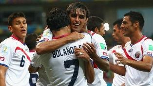 Коста-Рика сумела одолеть греков, играя полматча в меньшинстве
