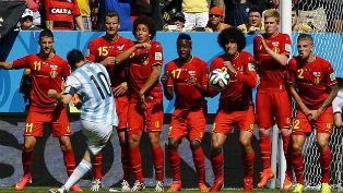 Бельгийская сборная закончила свое выступление в Бразилии