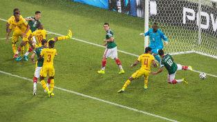 Судьи почти отобрали очки у сборной Мексики